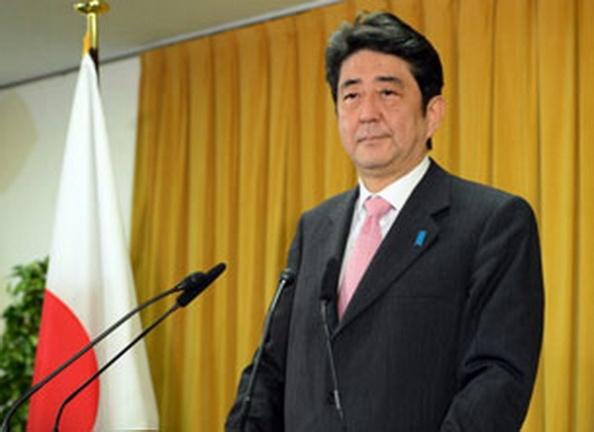 AFPLãnh đạo đảng Dân Chủ Tự Do, ông Shinzo Abe đã thành công lớn trong cuộc tổng tuyển cử trở thành vị thủ tướng thứ 7 của Nhật Bản