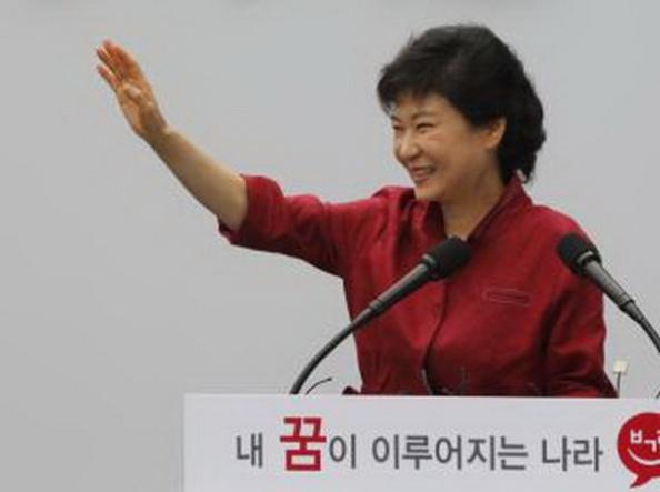 Tổng thống tân cử Hàn Quốc Park Geun Hye (REUTERS)
